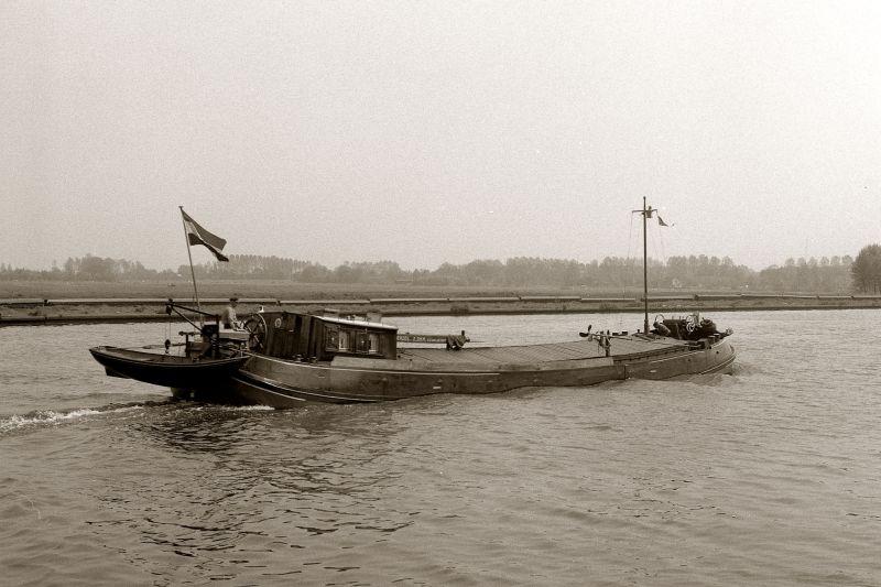 De Zuiderzee als vrachtschip in de binnenvaart