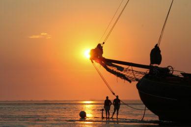 Een dag meezeilen op de Waddenzee in de zomervakantie