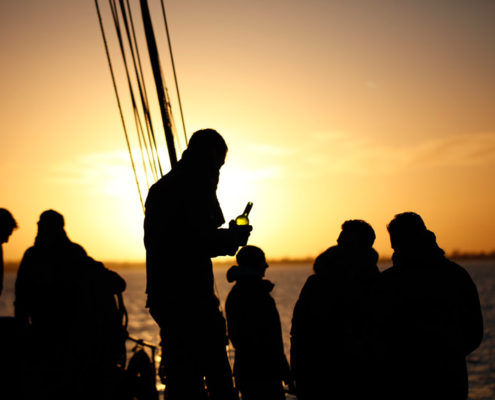 Avond zeiltocht op de Gouwzee