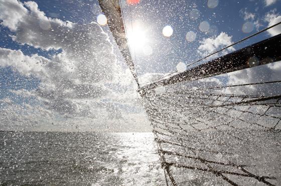 Dag zeilen op het IJsselmeer