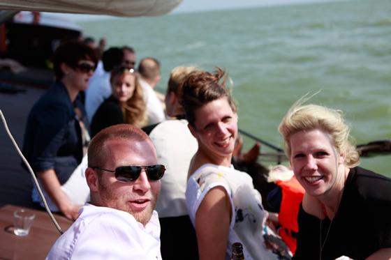 Middag zeilen op het IJsselmeer