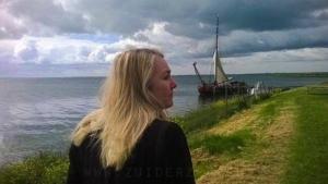 Minister en Zuiderzee in Uitdam