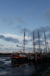 De haven van Schiermonnikoog