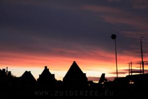 Zonsondergang Monnickendam