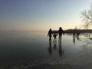 Schaatsen op de Gouwzee