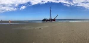 Zuiderzee op de Waddenzee